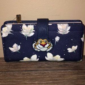 Disney Loungefly Rajah Aladdin Wallet NWT